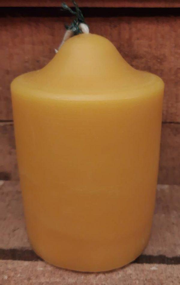 bijenwas kaars
